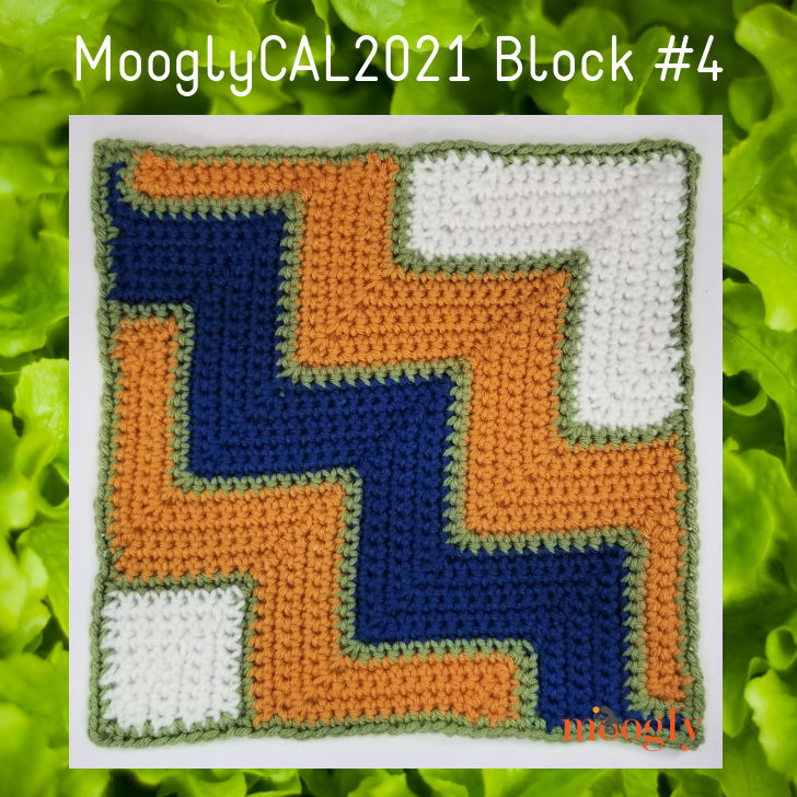 MooglyCAL2021 Block 4 by A Crocheted Simplicity
