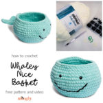 Whaley Nice Basket Crochet Pattern and Tutorial