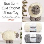 Baa Ram Ewe Crochet Sheep Toy - Moogly