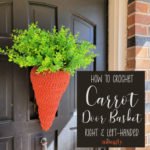 Carrot Door Basket Tutorial