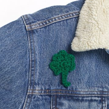 Lunch and Learn: Three Leaf Clover Pin