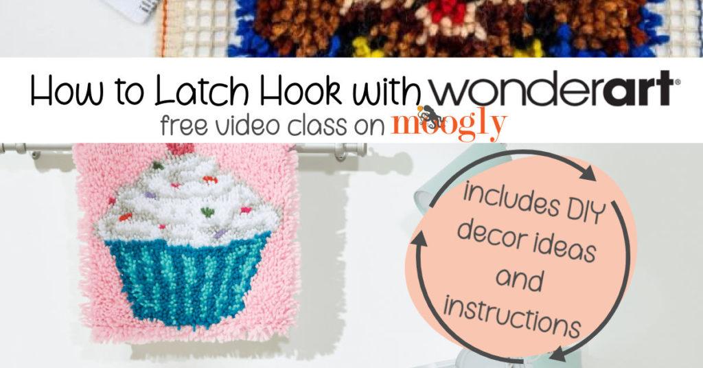 Latch Hook Class on Moogly