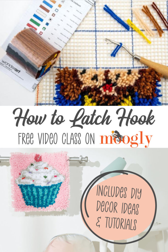 Learn how to Latch Hook with Moogly!