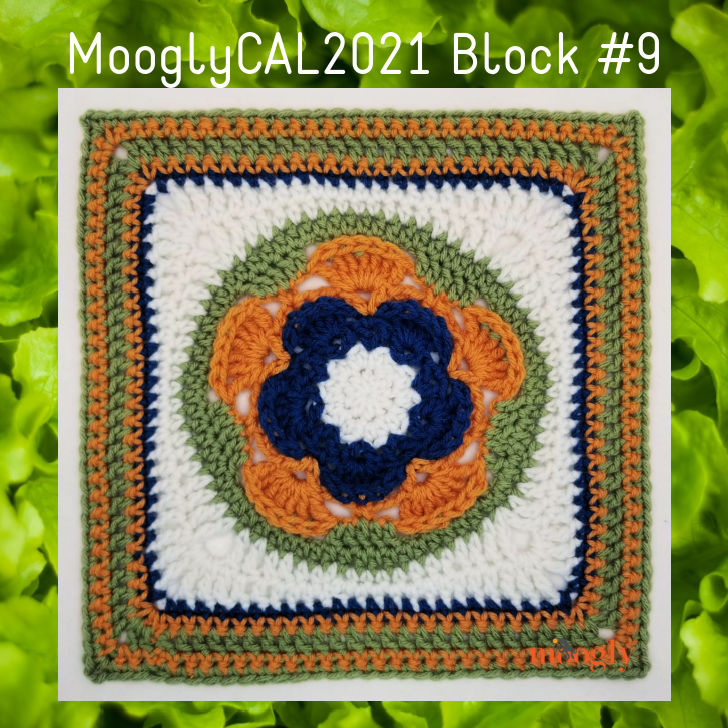 MooglyCAL2021 Block 9 by The Lavender Chair