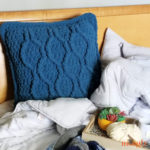 Plush Hourglass Floor Pillow