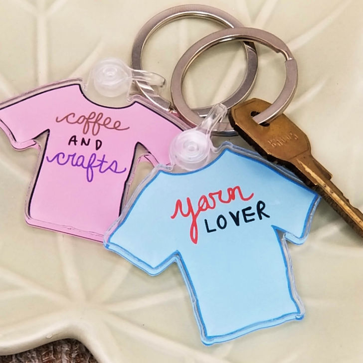 Simply By Amy Designs - keychains