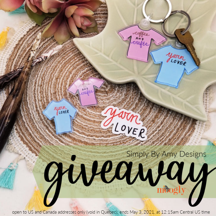 Simply By Amy Designs Giveaway on Moogly