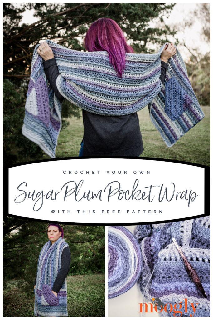 Sugar Plum Pocket Wrap on Moogly