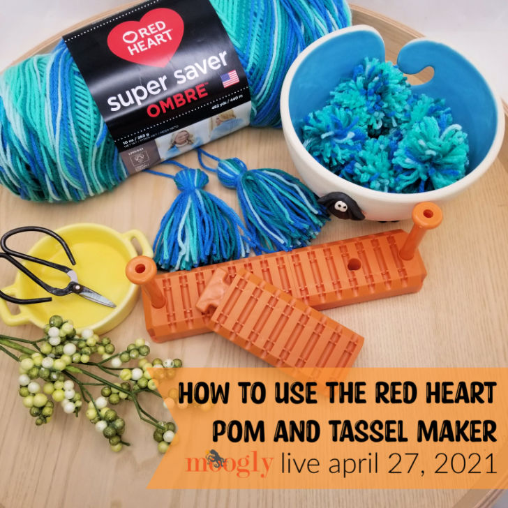 How to Use the Red Heart Pom and Tassel Maker - Moogly