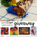 WonderArt Latch Hook Kit Giveaway