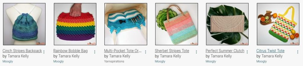 Crochet Bags by Moogly
