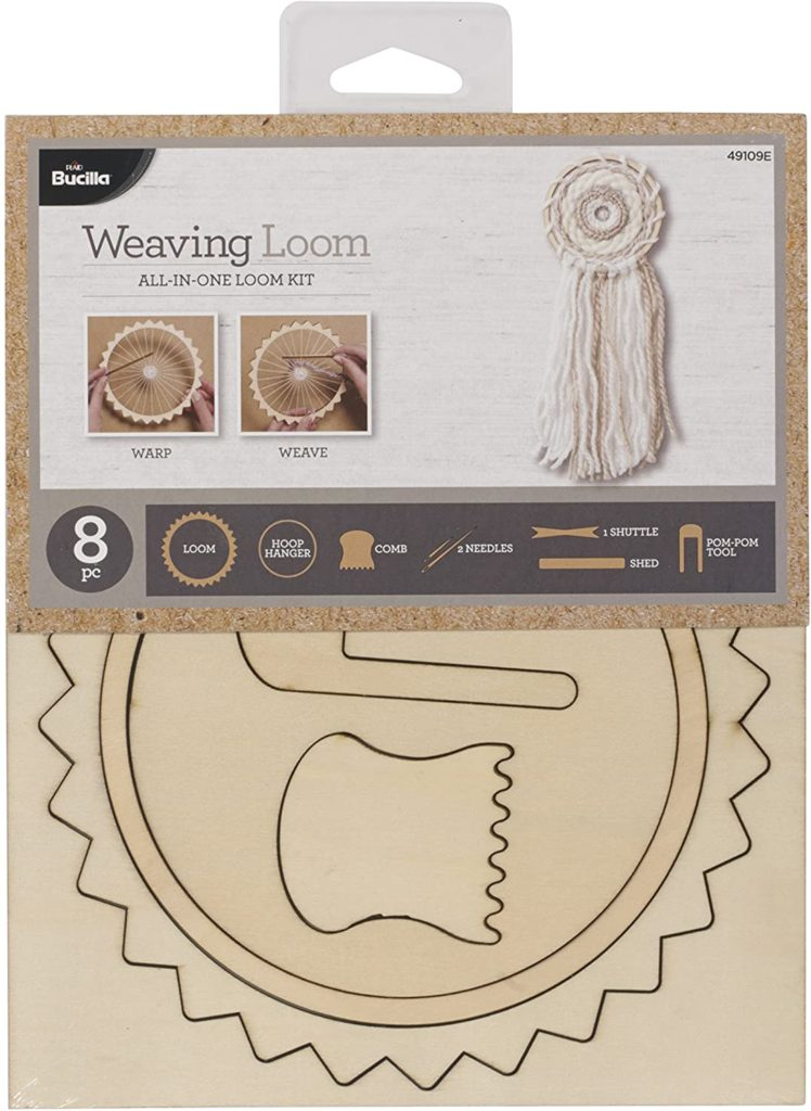 Bucilla Weaving Loom All-In-One Loom Kit - front of package