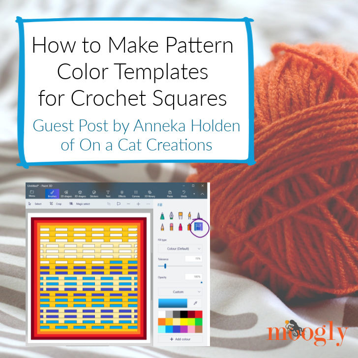 How to Make Pattern Color Templates: Guest Post by Anneka Holden
