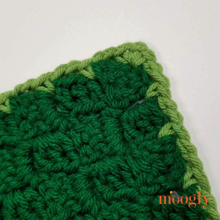 Cuddle Up Dinosaur Blanket - edging