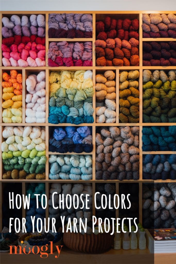 How to Choose Colors for Your Yarn Projects - PIN