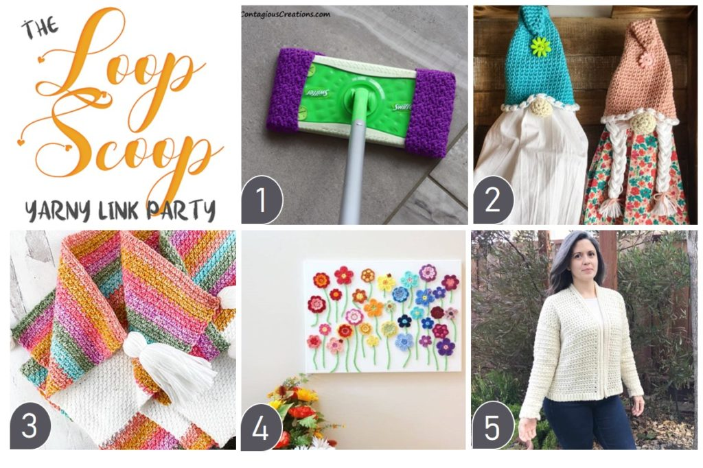 The Loop Scoop 13 on Moogly and Petals to Picots