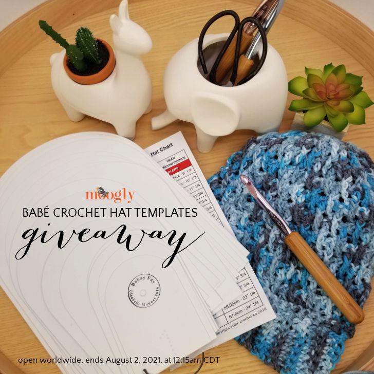 Babé Crochet Hat Template Giveaway - July 2021 - Moogly