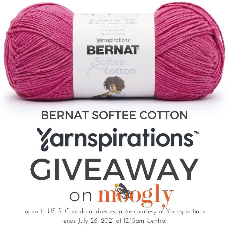 Bernat Softee Cotton Giveaway on Moogly
