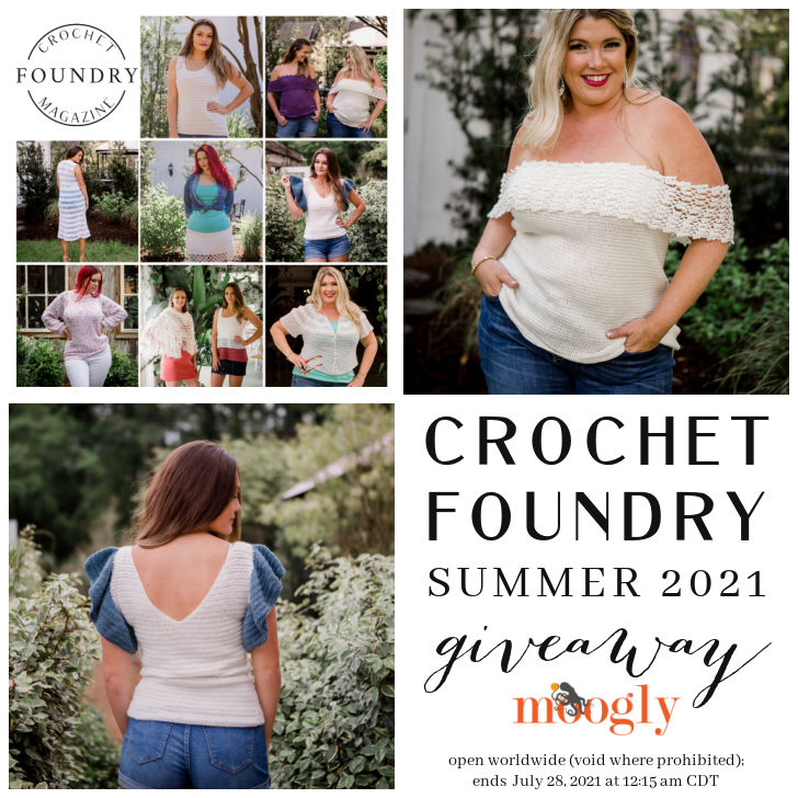 Crochet Foundry Summer 2021 Giveaway