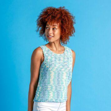 Lets Summer Crochet Top