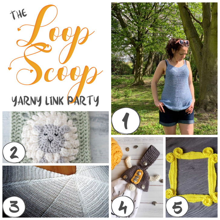 Loop Scoop 16 - get all the patterns on Moogly and Petals to Picots