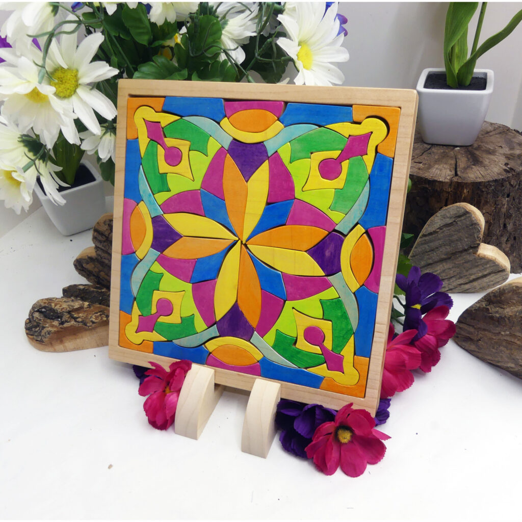 Handmade wooden puzzle on GoImagine