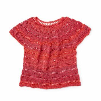 Zig Zag Crochet Top