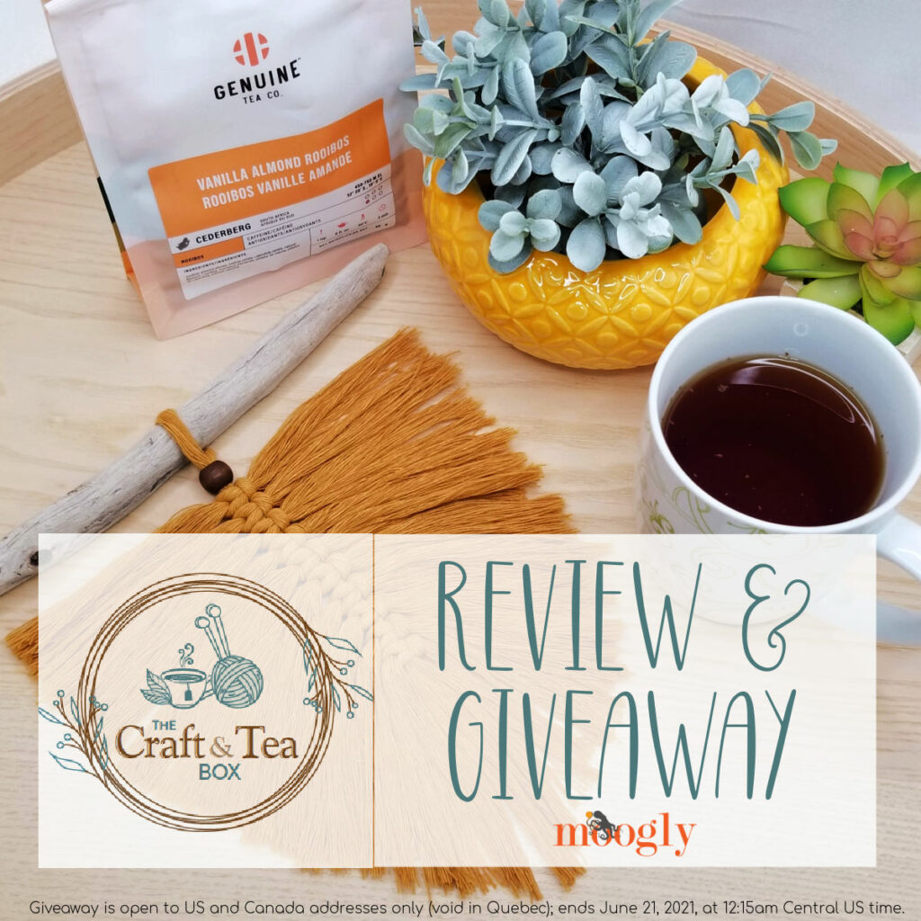 The Craft and Tea Box - Review and Giveaway on Moogly