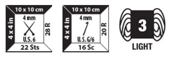 Bernat Softee Cotton Label