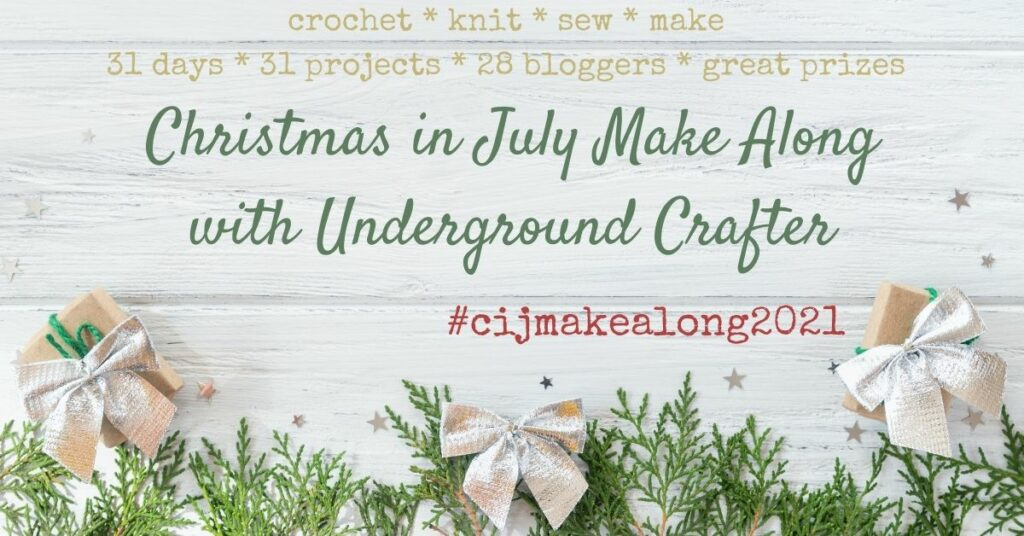 2021 Christmas in July Make Along with Underground Crafter