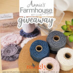 Annie's Farmhouse Style Kit Club Review and Giveaway