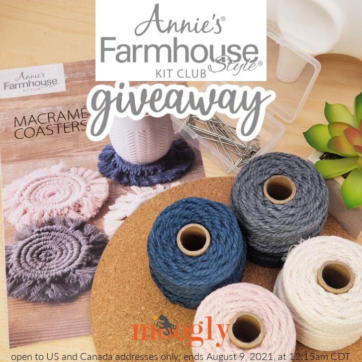 Annie's Farmhouse Style Kit Club - Moogly