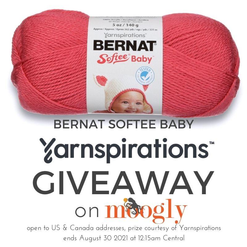 Bernat Softee Baby Giveaway sur Moogly
