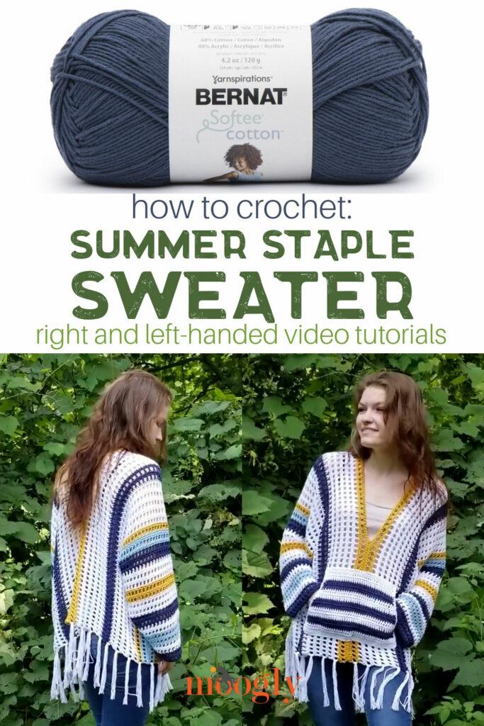 Summer Staple Sweater Tutorial on Moogly