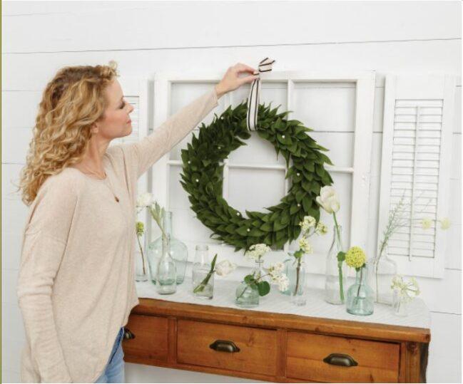 Annie's Farmhouse Style Kit Club - wreath 3
