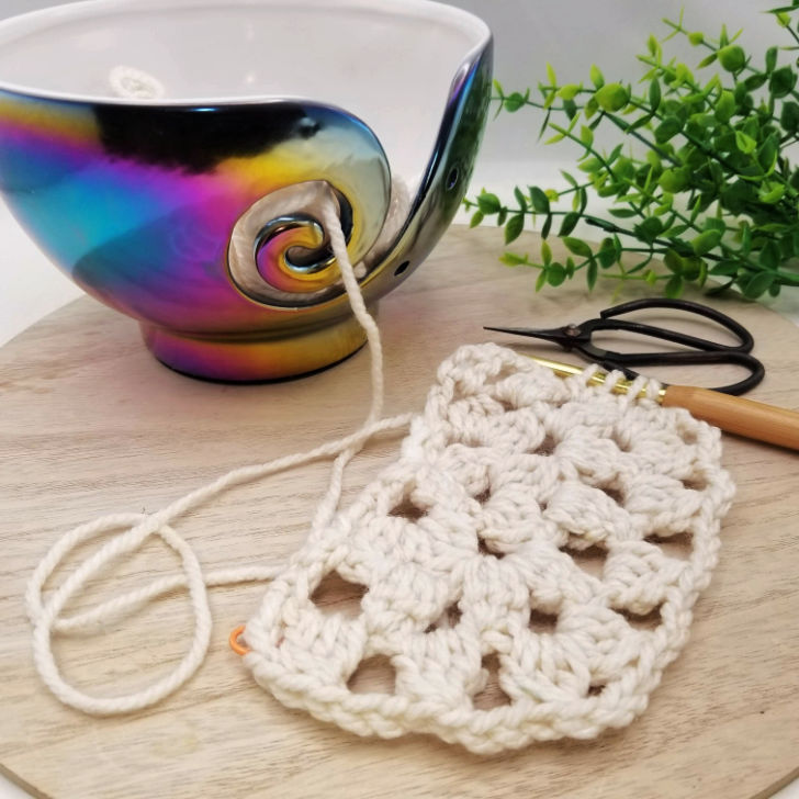 Athena's Elements yarn bowl giveaway on Moogly