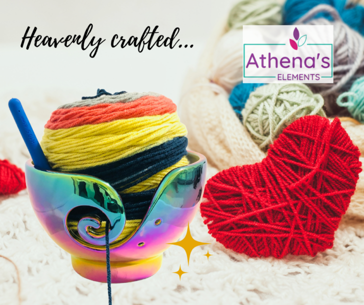 Athena's Elements Yarn Bowl