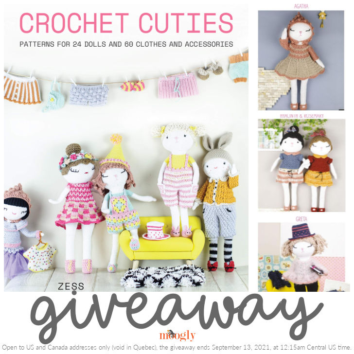Crochet Cuties Review and Giveaway on Moogly