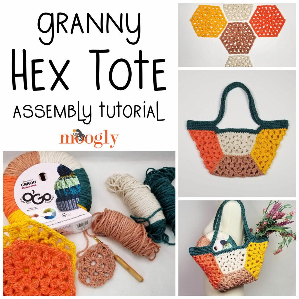 Granny Hex Tote Tutorial