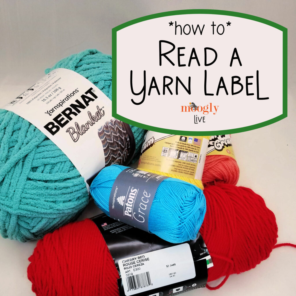 How to Read a Yarn Label - Moogly
