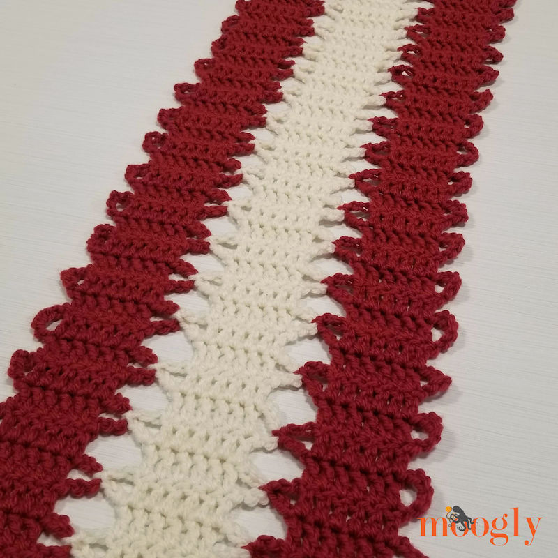 Moogly Ribbon Candy Table Runner