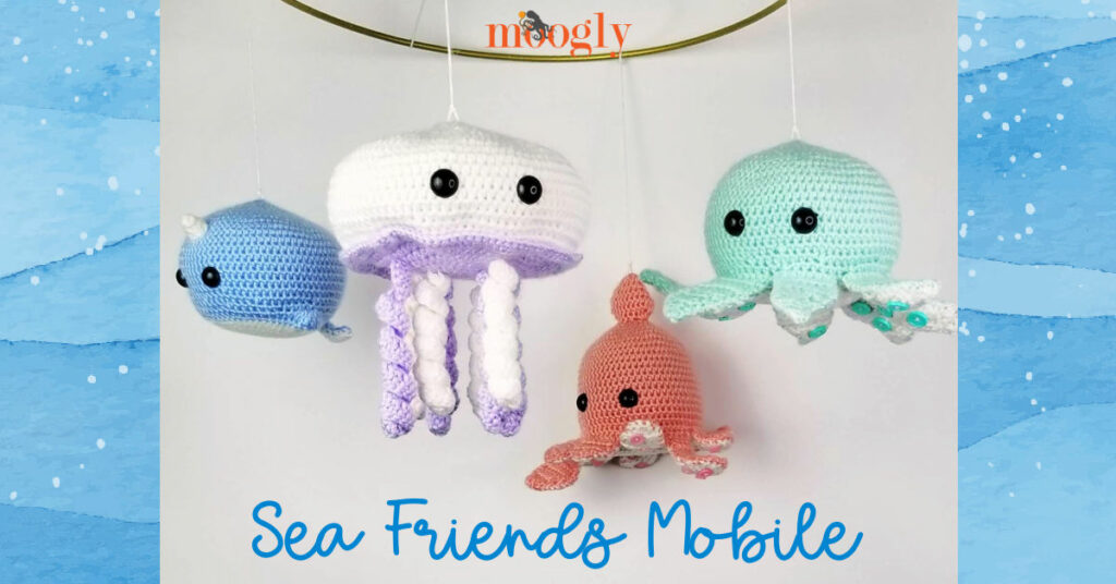 Sea Friends Mobile - Moogly