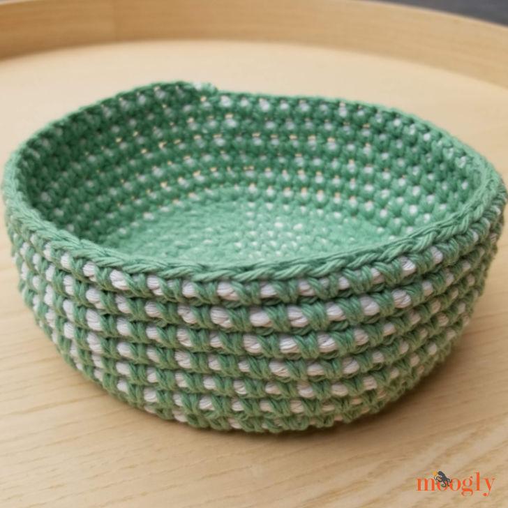 Crochet Cord Nesting Bowls - Large
