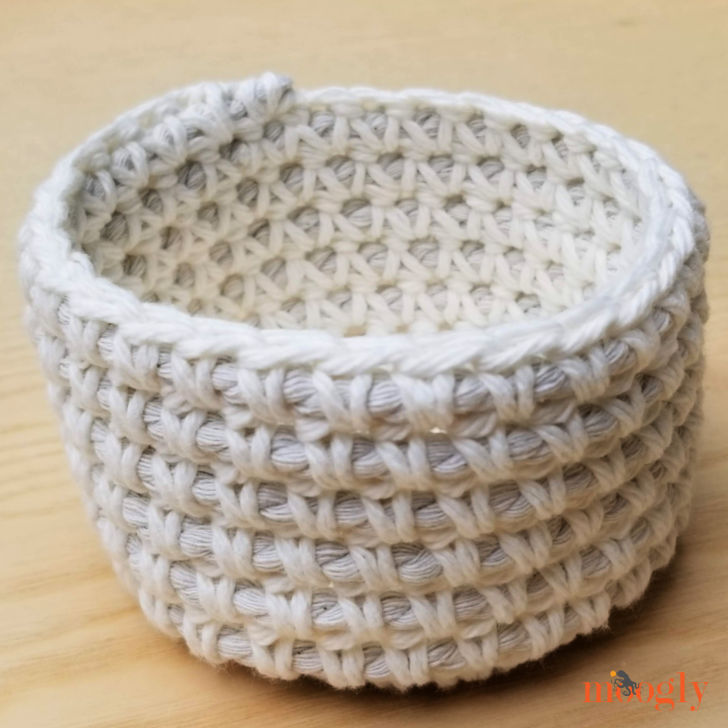 Crochet Cord Nesting Bowls - Small