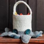 Halloween Monster Candy Bucket
