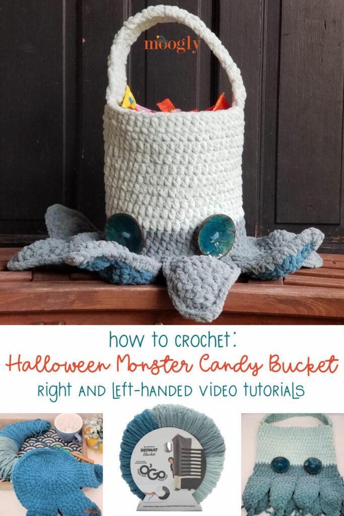 Halloween Monster Candy Bucket Tutorial - Moogly