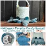 Halloween Monster Candy Bucket Tutorial