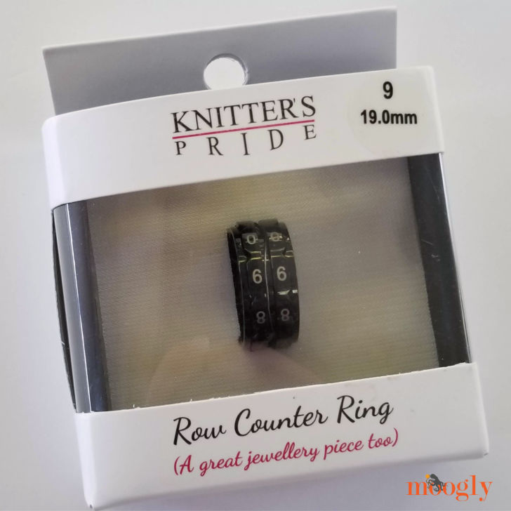 Knitter's Pride Row Counter Ring - in box