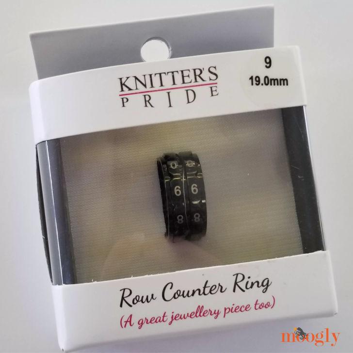 Anel Contador Knitter's Pride Row - na caixa