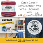 Caron Cakes + Stitch N Win Virtual Showcase with Moogly and Marly